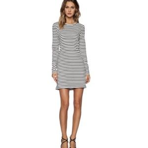 A.L.C. Fay dress striped with twisted back